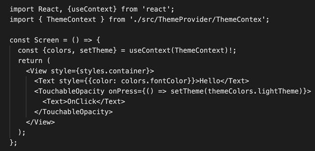 Context data React