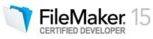FileMaker 15 certified logo