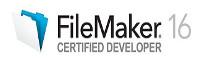 FileMaker 16 certified logo