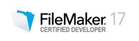 FileMaker 17 certified logo