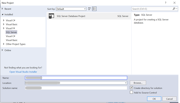 How to use a Database project in .NET Visual Studio?