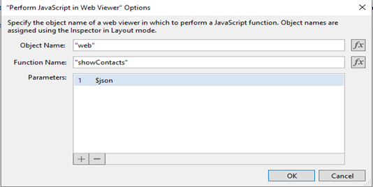 Integrating jQuery datatable in FileMaker application using Perform JavaScript in Web Viewer