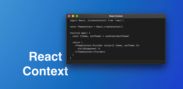 Effective use of Context in a React Application