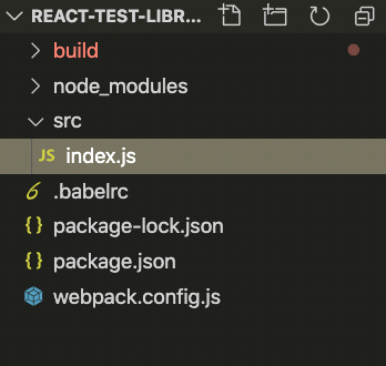 React test library