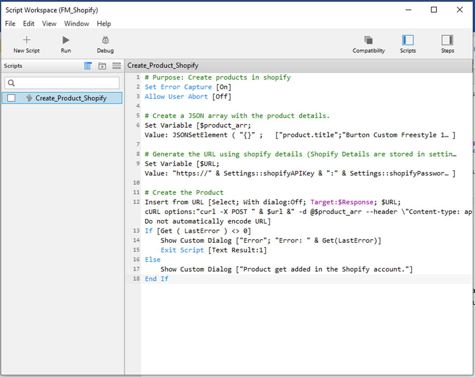 Script workspace image 3